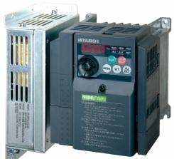 三菱電機 〓 インバータ 3相 200V 0.75KW(フィルタパックなし) 〓 FR-F720PJ-0.75K