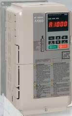 安川電機 〓 インバータ 高性能ベクトル制御A1000(三相電源AC200V用)軽負荷1.1KW/重負荷0.75KW 〓 CIMR-AA2A0006FA