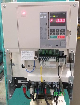 安川電機 〓 インバータ 高性能ベクトル制御A1000(三相電源AC200V用)軽負荷18.5KW/重負荷15KW 〓 CIMR-AA2A0069FA
