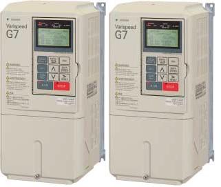 安川電機 〓 高性能&環境対応 本格ベクトル制御汎用インバータ(三相電源AC200V用)2.2KW 〓 CIMR-G7A22P21