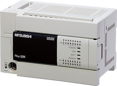 三菱電機 〓 マイクロシーケンサFX3Uシリーズ(基本ユニット) 〓 FX3U-16MR/DS