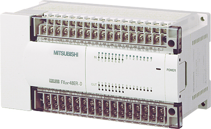 三菱電機 〓 マイクロシーケンサ入出力増設機器(DC電源タイプ増設ユニット) 〓 FX2N-48ER-D