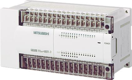 三菱電機 〓 マイクロシーケンサ入出力増設機器(DC電源タイプ増設ユニット) 〓 FX2N-48ET-D