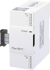 三菱電機 〓 マイクロシーケンサ出力増設ブロック(マイクロシーケンサに出力16点増設できます。) 〓 FX2N-16EYT