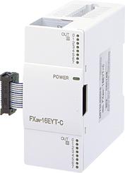 三菱電機 〓 マイクロシーケンサ出力増設ブロック(マイクロシーケンサに出力16点増設できます。) 〓 FX2N-16EYT-C(コネクタ出力)
