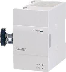 三菱電機 〓 マイクロシーケンサ アナログ出力ブロック(出力4ch) 〓 FX3U-4DA