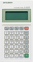 三菱電機 〓 FX2N-10GM/20GM 位置決め用ティーチングパネル 〓 E-20TP-SET0