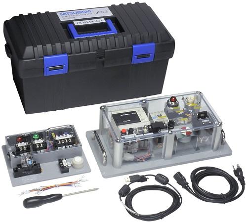 三菱電機 〓 FA用の入力/出力機器を使ったシーケンスの基礎学習機材 〓 FX-I/O-DEMO2