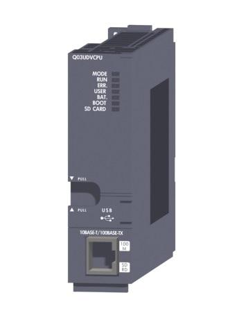 三菱電機 納期未定 非常に納期がかかります。〓 ユニバーサルモデル高速タイプQCPU 〓 Q03UDVCPU
