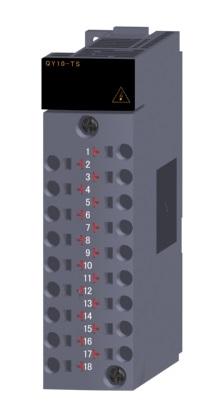 三菱電機 〓 接点出力ユニット(スプリングクランプ端子台) 〓 QY10-TS