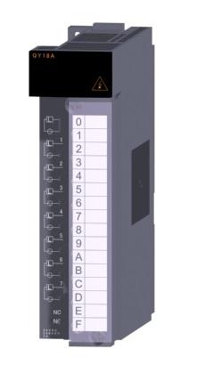 三菱電機 〓 接点出力ユニット(全点独立接点) 〓 QY18A