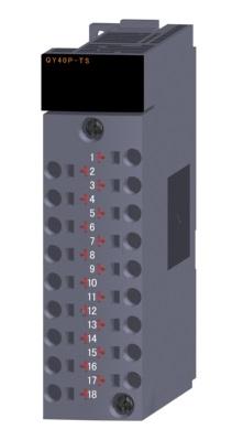 三菱電機 〓 トランジスタ出力ユニット(シンクタイプ)(18点表示機能付スプリングクランプ端子台) 〓 QY40P-TS