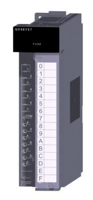 三菱電機 〓 DC入力トランジスタ出力複合ユニット 〓 QX48Y57