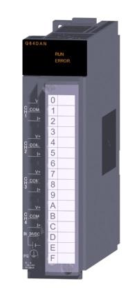三菱電機 〓 ディジタル-アナログ変換ユニット 〓 Q64DAN