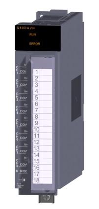 三菱電機 〓 ディジタル-アナログ変換ユニット 〓 Q68DAVN
