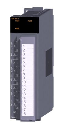 三菱電機 〓 CT入力ユニット 〓 Q68CT