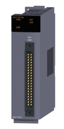 三菱電機 納期未定 非常に納期がかかります。〓 位置決めユニット(2軸オープンコレクタ出力タイプ) 〓 QD75P2N