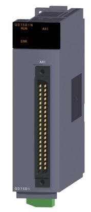 三菱電機 〓 位置決めユニット(1軸差動ドライバ出力タイプ) 〓 QD75D1N