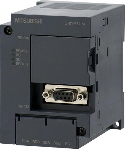 三菱電機 〓 通信ユニット GOT1000 シリアルマルチドロップ接続ユニット DC24V 〓 GT01-RS4-M