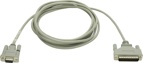 三菱電機 〓 FX通信特殊アダプタ接続ケーブル 〓 GT01-C30R2-25P 3m