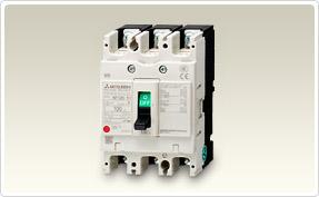三菱電機 〓 ノーヒューズ遮断器 3P 100A 〓 NF125-SVF 3P 100A