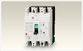 三菱電機 〓 漏電遮断器(一般用途) 3P 60A(定格感度電流:30mA、100mA) 〓 NV63-SVF 3P 60A