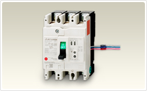 三菱電機 〓 NF-Z(漏電アラーム遮断器)  3P 60A 〓 NF125-ZCV 3P 60A