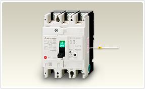 三菱電機 〓 NF-N(単3中性線欠相保護付ノーヒューズ遮断器) 3P 125A 〓 NF125-NCV 3P 125A