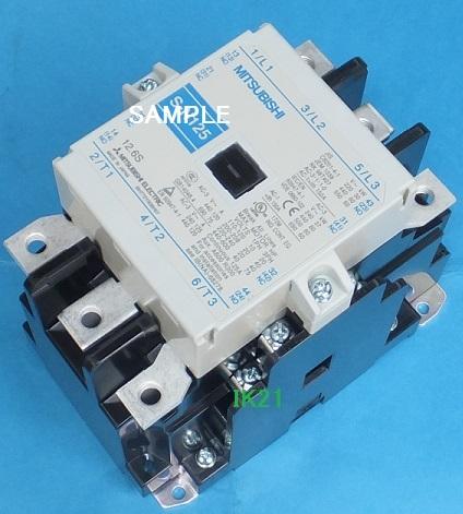 三菱電機 〓 電磁接触器(サーマルリレーなし、解放形) 〓 S-N125 コイル電圧AC100V