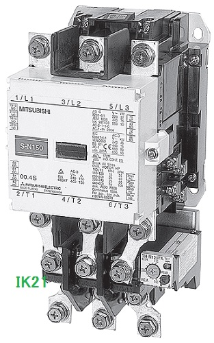 三菱電機 〓 交流操作形電磁開閉器  〓 MSO-N150 37Kw200V コイル電圧AC100V