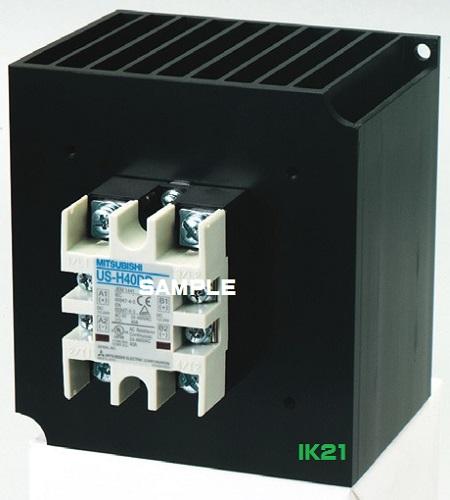 三菱電機 〓 ヒータ負荷用ソリッドステートコンタクタ AC-1級定格使用電流40A 〓 US-H40 操作電源DC12~24V