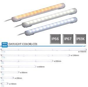 パトライト 〓 LED照明ワークライト(昼白色) 〓 CLA6S-24-CN(ケーブル長0.5m)