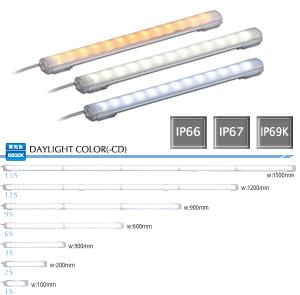 パトライト 〓 LED照明ワークライト(昼白色) 〓 CLA6S-24-CN(ケーブル長3.0m)