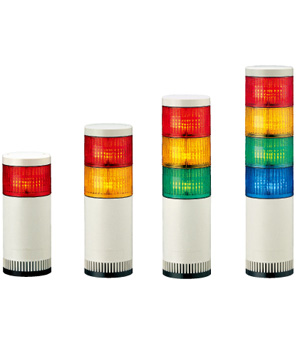 パトライト 〓 LED大型積層信号灯 〓 LGE-320FB-RYGB