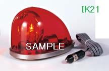 パトライト 〓 流線型回転灯:【色】:赤 〓 使用電圧:DC24V 〓 HKFM-102-R
