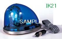パトライト 〓 流線型回転灯:【色】:青 〓 使用電圧:DC24V 〓 HKFM-102-B