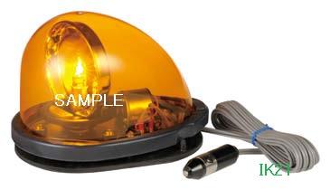 パトライト 〓 流線型回転灯:【色】:黄 〓 使用電圧:DC12V 〓 HKFM-101G-Y