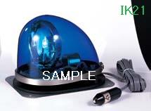 パトライト 〓 流線型回転灯:【色】:青 〓 使用電圧:DC24V 〓 HKFM-102G-B