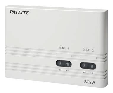 パトライト 〓 センサコントロールボックス 〓 使用電圧:AC100V 〓 SC2W