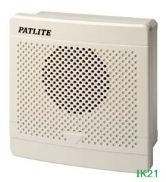 パトライト 〓 電子音報知器 □120 95dB:【色】:ライトグレー 〓 使用電圧:AC220V 〓 BK-220C-J