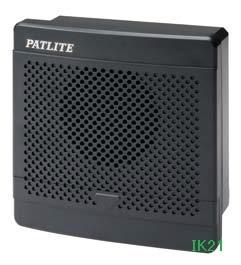 パトライト 〓 電子音報知器 □120 95dB:【色】:ダークグレー 〓 使用電圧:AC100V 〓 BK-100D-K