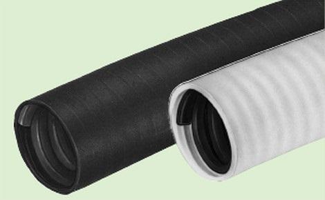 未来工業 【販売単位:1個(10m)】〓マシンフレキ 色:黒 近似内径:φ70〓MFP-70K1
