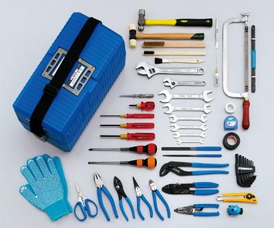 電気工事士技能試験対策品・半導体・工具・事務用品│ホーザン〓工具セット〓S-51