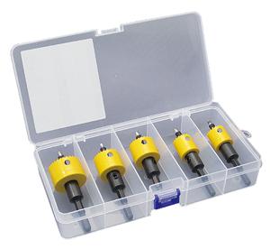 電気工事士技能試験対策品・半導体・工具・事務用品│JEFCOM(ジェフコム) 充電バイメタルホールソー(薄刃タイプ) セット 品番:JHU-2133