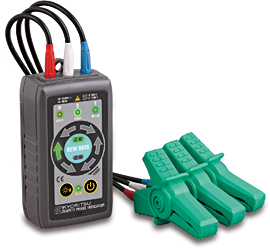 電気工事士技能試験対策品・半導体・工具・事務用品│共立電気〓 非接触検相器 〓8035
