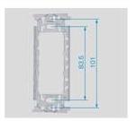 電気工事士技能試験対策品・半導体・工具・事務用品│Panasonic(パナソニック)取付枠  WN3700