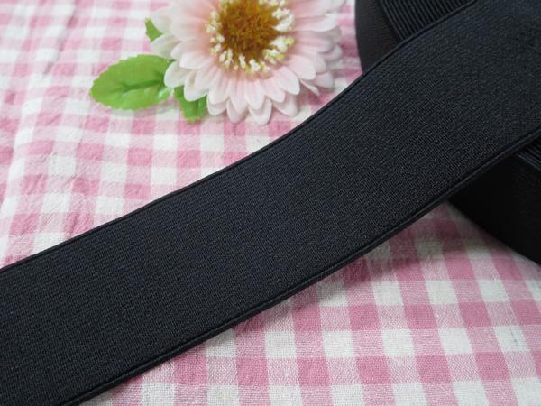 日本製 平ゴム オペロンソフトタック 40mm [再販ご予約限定送料無料] 黒 40ミリ 激安☆超特価