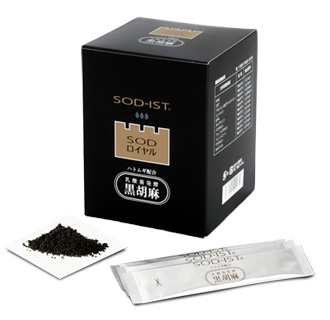 SODロイヤル ハトムギ配合 乳酸菌発酵 黒胡麻 3g×60包 【smtb-MS】