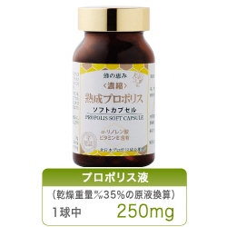 蜂の恵み 熟成プロポリス ソフトカプセル 120粒 【送料無料】
