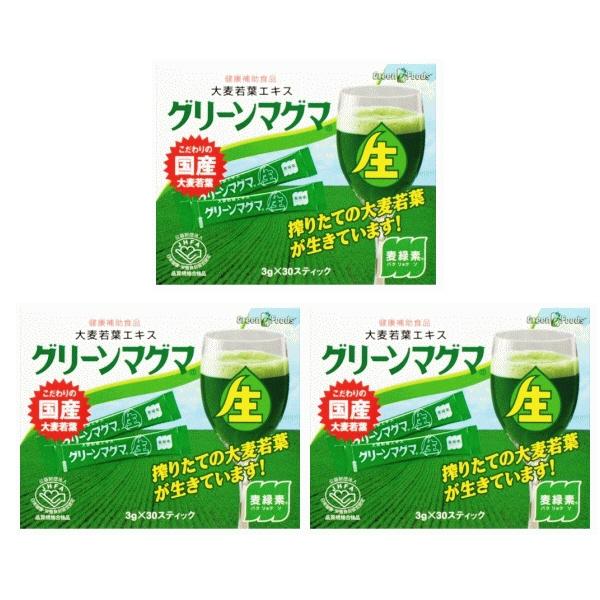 グリーンマグマ 30包×3箱セット(+6包おまけ)【送料無料※北海道・沖縄除く】
